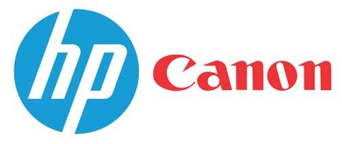 تشابه کارتریج HP و Canon